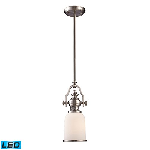 Elk Lighting 66122-1-LED Pendant Light Satin Nickel