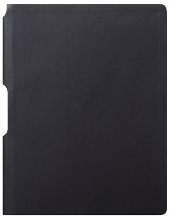Groove Journal with Free Pen: Black, Large 10 pcs sku# 1796353MA