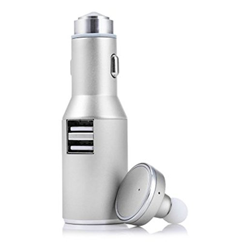 Car Charger Bluetooth Headset 3in1