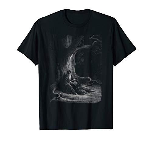 T-shirt Dore - Gustave Dore - Idylls of the King, pl. 10, Merlin & Vivien