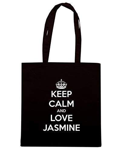 AND Shopper Borsa LOVE TKC1945 Nera JASMINE CALM KEEP dXXqarwxz