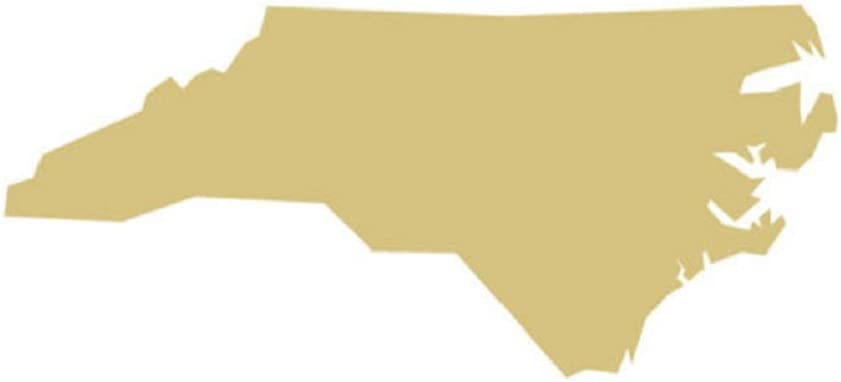 """States Cutout Unfinished Wood United States Geography School Decor Door Hanger MDF Shape Canvas Style 1 (6"""", NC)"""