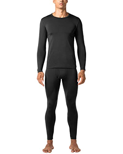 LAPASA Herren Kompression Thermounterwäsche Set Sport Thermounterwäsche Funktionsunterwäsche Base Layer M53 MEHRWEG