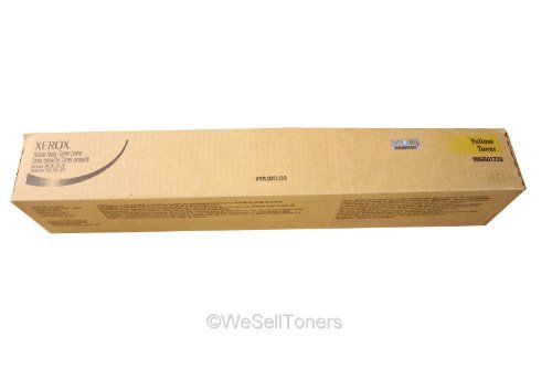 Xerox 6R1220 OEM Toner - DocuColor 240 250 242 252 260 WorkCentre 7655 7665 7675 7755 Yellow Toner 34000 Yield OEM -  Xerox-6R1220