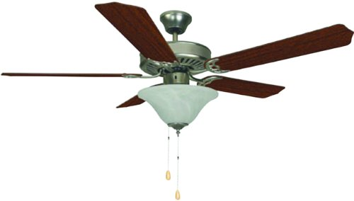 Cheap Bala 283014 Dual Mount Ceiling Fan with Bowl Light Kit, 52-Inch, Brushed Pewter