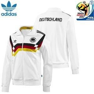 adidas Alemania Chaqueta DFB Retro 1990 TT - L: Amazon.es ...