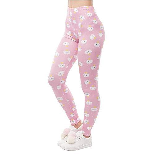 De Cloud Yoga Fitness Mujer Rincess Clásico Lga50610 Laisla Diseño Legging Leggings Cintura Fashion Alta Impresión Mujeres Pantalones PqKOCxE