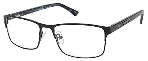 Hackett London 1244/Mens/Rectangular/Stainless Steel Eyeglasses/frames