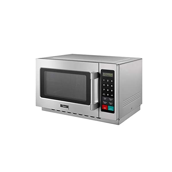 Midea Equipment 1034N1A Stainless Steel Countertop Commercial Microwave Oven, 1000W 6