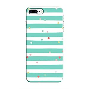 Cover It Up - Sprinkles Cyan iPhone 8 PlusHard Case