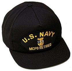 U.S. Navy MCPO Retired Ballcap