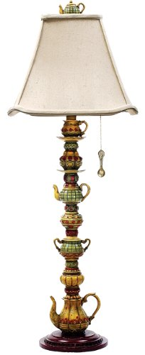 Sterling Home 91-253 Tea Service Candlestick Table Lamp