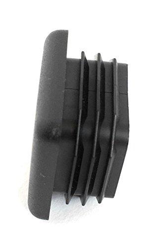 (100 Pack) (14-20 GA) Square Plastic Polyethylene Plug 1''x 1'' by Brewdogsupplies (Image #6)
