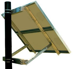 Tycon TPSM-80x4-UNI Side of Pole Mount for Two to Four 80W or Two 120W Solar Panels by Tycon