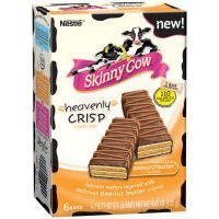 Nestle Skinny Cow Heavenly Crisp Candy Bar Milk Chocolate...