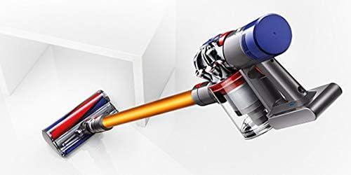 Dyson V8 Aspiradora sin cable, 350 W de potencia, 28/115 W de succión, capacidad del cubo 0.54 l, color amarillo, 115 W, 0.54 litros, 82 Decibelios, Aluminio, De plástico: Amazon.es: Hogar