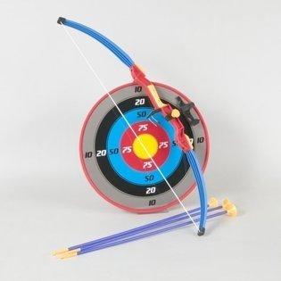 Liberty las importaciones Sport Toy de arco y flecha Set para niños con ventosa Flechas y Target