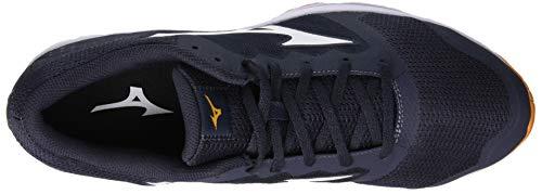 Sneakers Orange Flame Herren Blue O 001 Shoe White Mehrfarbig Lx Ezrun Mizuno I6n4wUqw