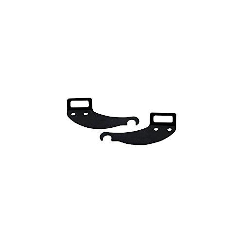 Axiom Rear Bike Rack Axle Kit Streamliner Black