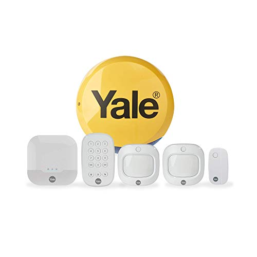 Yale IA-320 Sync Smart Home Security Alarm, 6 Piece Kit, Self Monitored, No Contract, Wireless, 200m Range, Featuring…