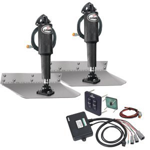 Lenco 9'' x 12'' Standard Trim Tab Kit w/Standard Tactile Switch Kit 12V (29287)
