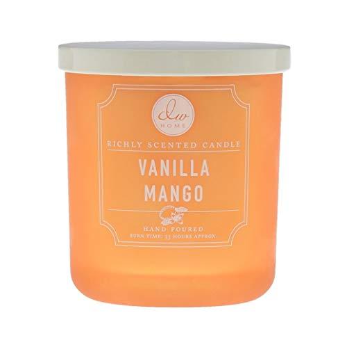 DW Home Vanilla Bean and Fruit Medium 1 Wick Hand Poured 9.025 oz Candle (Vanilla Mango)