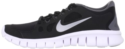 Nike Free 5.0 + (GS) Black White 001