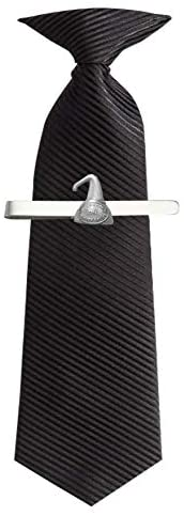 Hand Creations Whisky Still R77 Engels tinnen embleem op een Tie Clip Slide