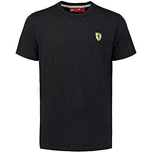 Ferrari Men's Black Classic Crew Neck T-Shirt ()
