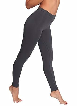 American Apparel Cotton Spandex Jersey Legging, Asphalt, X-Small