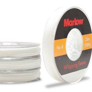 (#8 White Whipping Twine Marlow)