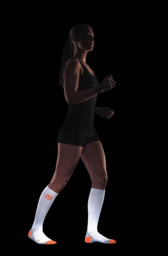 CEP Woman's Running Socks (IV 15.25-17 Inch, Black) by CEP Compression Socks (Image #1)