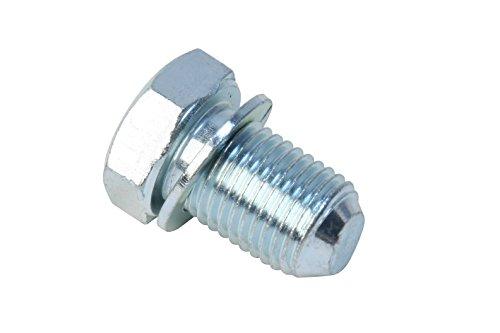 - URO Parts N90813202 Oil Drain Plug, 14mm x 22mm x 1.5 mm