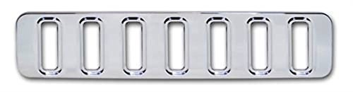 Pirate H20022-1SC 2003-2010 H2 Hummer SUV & SUT Chrome Billet Lower Mini Grill