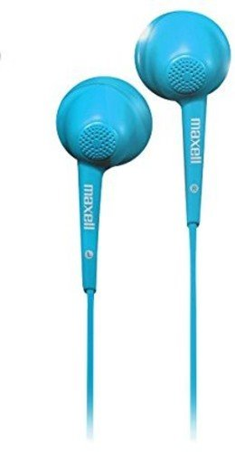Maxell 191568 Jelleez Soft Ear Buds Blue With Mic