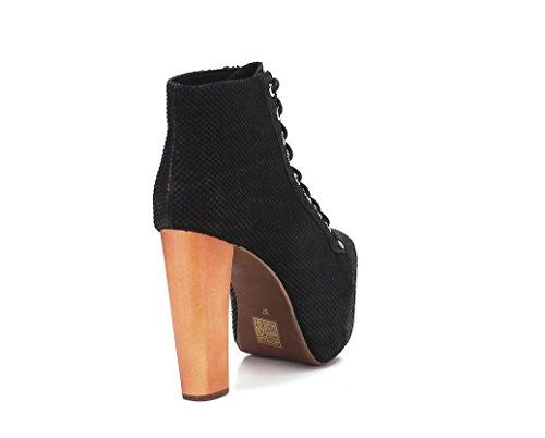 Jeffrey Campbell - Zapatos de vestir para mujer Negro negro