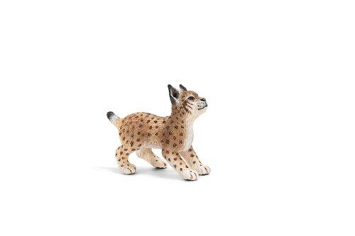 Schleich Lynx Cub Toy Figure