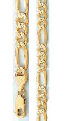 Yellow Gold Solid Dc Rope - 9