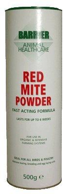 Schutz Tiere Gesundheitswesen Rot Mite Pulver, 500 g