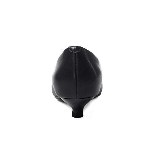 Apl11320 Sandales Noir Femme 5 Compensées Noir 36 Balamasa ZBqwq