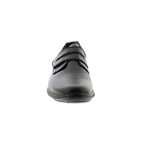 Rieker 04758-00, Mocasines para Hombre Negro (Nero/schwarz/schwarz)
