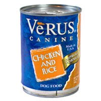 VeRUS Chicken and Brown Rice Formula Canned Dog Food