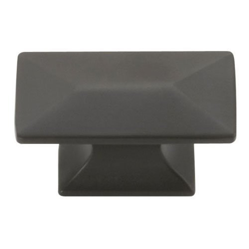 Hickory Hardware P2151-10B 1-3/4-Inch by 15/16-Inch Bungalow Knob, Oil-Rubbed Bronze by Hickory Hardware ()