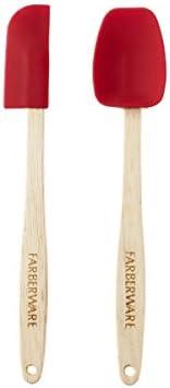 Farberware, Mini espátulas de silicone Strawberry Pro, conjunto de 2, STD