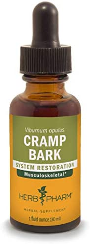 Herb Pharm Cramp Bark Liquid Extract for Musculoskeletal Support – 1 Ounce