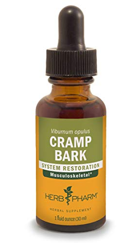 Bark Liquid - Herb Pharm Cramp Bark Liquid Extract for Musculoskeletal Support - 1 Ounce
