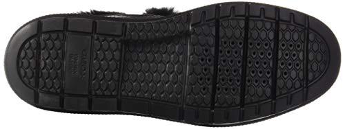 C9999 Femme D Geox B Baskets D Hautes Kaula Abx Noir black 11Pvqw