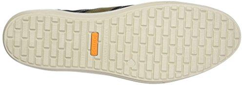 Jomos 314206, Zapatillas Hombre Multicolor (Schwarz/Asphalt)