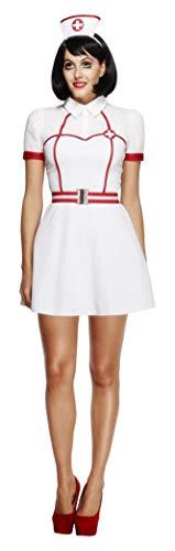 Smiffys Fever Bed Side Nurse Costume ()