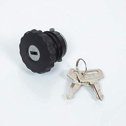 Tap/ón para dep/ósito de gasolina con llave antirrobo 30/de mm para ciclomotor Peugeot 103/Vogue